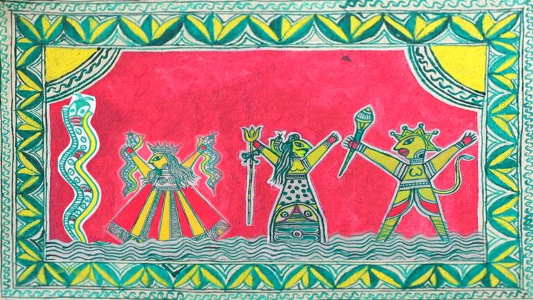 बिहार की मंजूषा कला – एक अद्भुत धरोहर