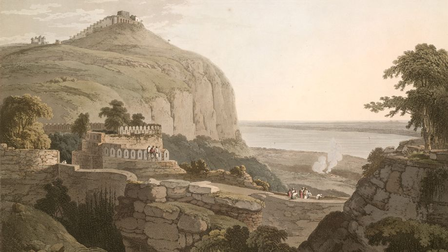 रोहतास गढ़ का ऐतिहासिक क़िला
