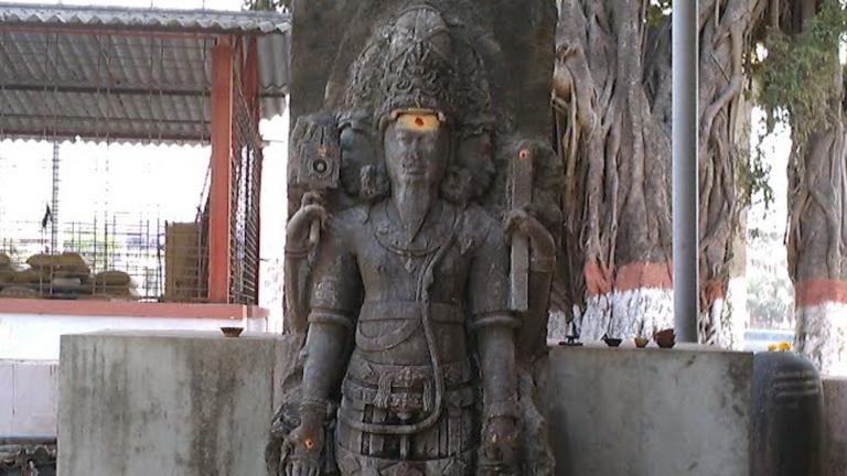 नालासोपारा की भगवान ब्रह्मा की मूर्ति